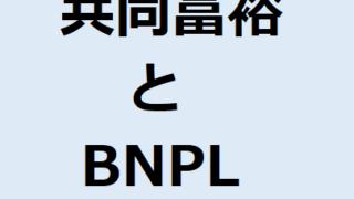 「共同富裕」と「BNPL」について