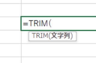 Excelで不要なスペースを削除する方法